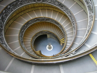 Vatican Museums of spiral staircase Stock photo [1225332] Italy