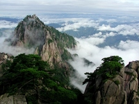 World Heritage, China, Huangshan Stock photo [1226337] Huangshan