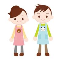 Hoiku-shi's two Kindergarten