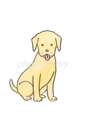 おすわりする犬 イラスト素材 1310646 フォトライブラリー