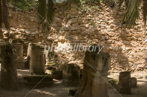カルタゴ遺跡の悲哀とトフェ-写真素材 カルタゴ遺跡の悲哀とトフェ 画像ID 1324077  カ
