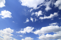 Blue sky and white clouds Stock photo [1308514] Blue