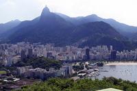 Brazil Rio de Janeiro Corcovado and Rio city Stock photo [1313002] South