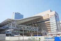 Large roof of Osaka Station Stock photo [1318427] JR
