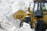 Snow removal Stock photo [1323178] Snow