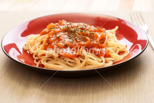 ミートソーススパゲティ-stock photo  ミートソーススパゲティ 画像ID 140190