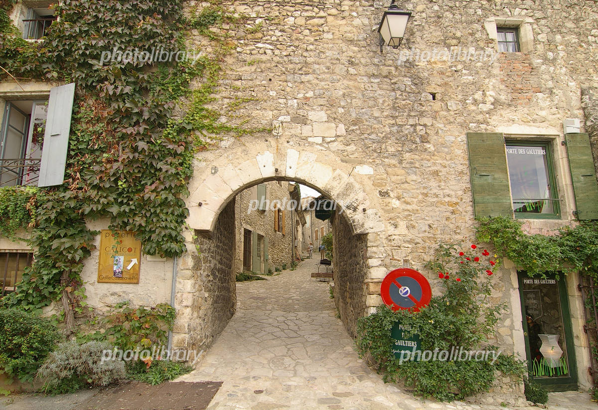Small village Le Poyet Laval of France Photo