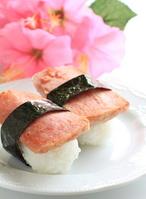 Spam musubi of Hawaiian cuisine Stock photo [1399617] Luncheon