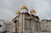 Moscow Kremlin Uspenski Cathedral Stock photo [1400368] Uspenski