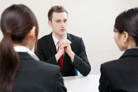 Gaijin negotiation Stock photo [1402773] Foreigner