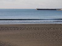 Quiet Enoshima Higashihama coast Stock photo [1404312] Sea