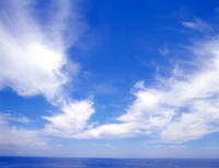Summer beach clouds Stock photo [1404357] Blue
