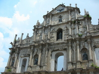 Macau Ruins of St. Paul's Cathedral facade Stock photo [1408112] Macau