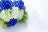 Blue rose bouquet Stock photo [1495295] Bouquet