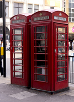 London telephone box Stock photo [1495539] United