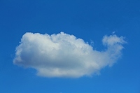 Clouds in the shape of a whale Stock photo [1497940] Strange