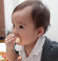 Baby to Devour the food Stock photo [1497964] Baby