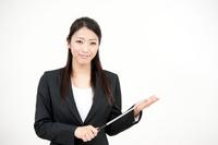 Woman lecturer Studio