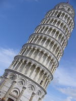 Leaning Tower of Pisa Stock photo [1499839] Pizza