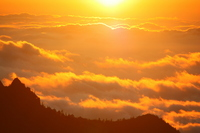 Sea of clouds shining in the morning sun Stock photo [1499847] Asahi