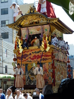 Parade of decorated floats Stock photo [1502059] Gion