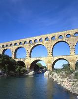 Pont du Gard Stock photo [1502122] Pont