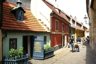 Golden alley Stock photo [1502626] Prague