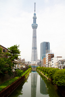 Sky Tree Stock photo [1503401] Jitsuken