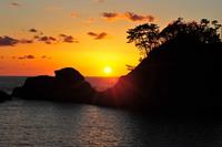Sunset in the Nishi-Izu Stock photo [1503851] Nishiizu