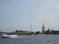 Neva River and Peter and Paul Fortress Stock photo [1504148] Russia
