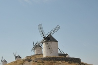 Windmill four of La Mancha Stock photo [1597009] La