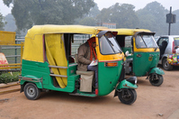 Auto Rikusha Stock photo [1601410] India