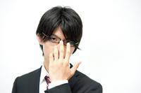Glasses salaryman Stock photo [1606135] Serious
