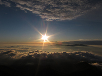 Shining morning sun Stock photo [1606176] Yatsugatake