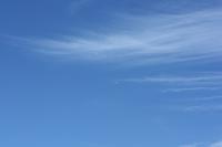 Autumn sky, broom cloud Stock photo [1606382] Empty