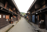 Streets of alpine Kamisan'no cho Stock photo [1699595] Town