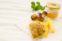 Potpourri and aromatherapy oil Stock photo [1701805] Potpourri