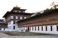 Tashichho Dzong Stock photo [1709929] Bhutan