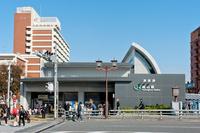 JR Komagome Station Stock photo [1712621] JR