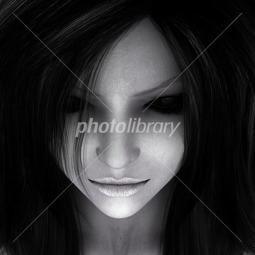 女性の顔アップ イラスト素材 1776654 フォトライブラリー