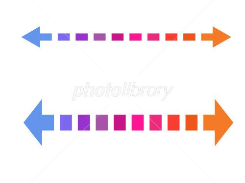 グラデーション矢印 イラスト素材 1777362 フォトライブラリー
