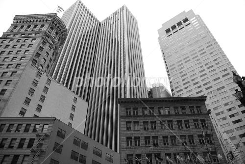 Business district of San Francisco, USA Photo