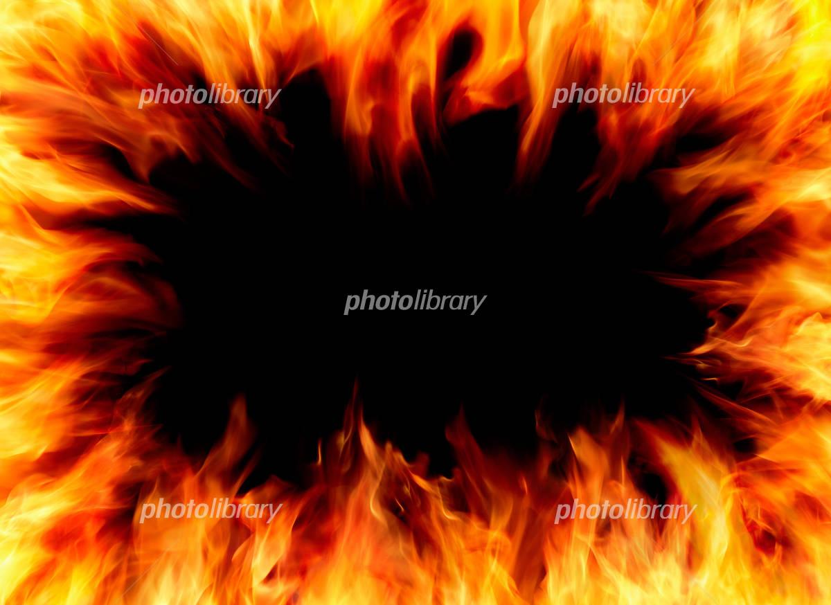 炎のフレーム-写真素材 炎のフレーム 画像ID 1785556  炎のフレーム