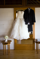 Wedding dress and tuxedo Stock photo [1777006] Wedding