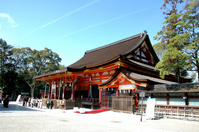 Kyoto Yasaka Shrine main shrine Stock photo [1777080] Kyoto