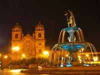 Night of the Plaza de Armas Stock photo [1778952] Peru