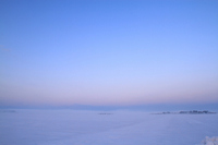 Snowy field dawn Stock photo [1779779] Yamagata