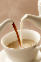 Cafe au lait Stock photo [1784363] Cafe