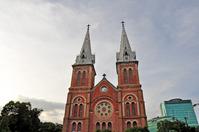 Ho Chi Minh City Saigon Notre-Dame Basilica Stock photo [1785596] Vietnam