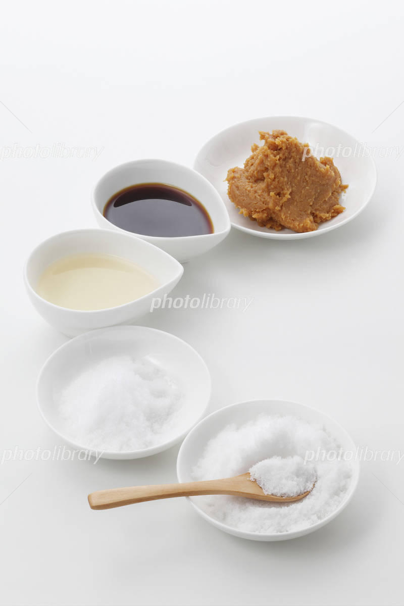 Basic of Japanese seasoning, Sashisuse-so Photo